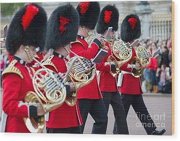 guards band at Buckingham palace Wood Print