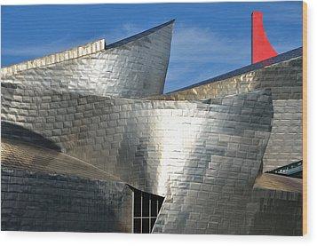 Guggenheim Museum Bilbao - 5 Wood Print