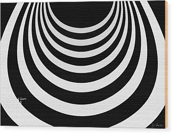 Guggenheim Plus Plus No. 1 Wood Print by Joe Bonita