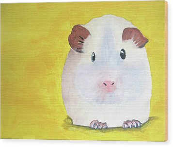 Guinee Pig Wood Print by Darren Stein