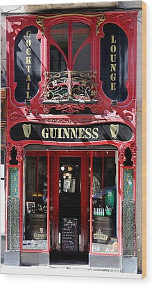 Wood Print featuring the photograph Guinness Beer 5 by Andrew Fare