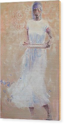 Gullah Princess Wood Print