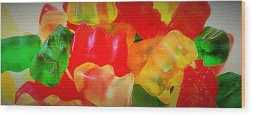 Gummies Wood Print