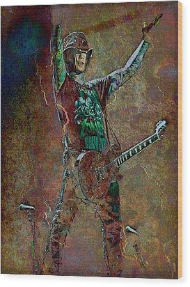 Guns N' Roses Lead Guitarist Dj Ashba Wood Print by Loriental Photography