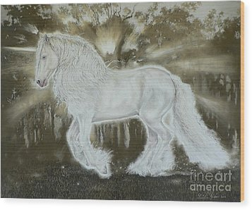 Gypsy Dreams Wood Print by Louise Green