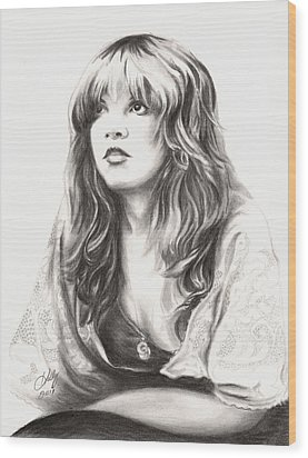 Gypsy Wood Print by Kathleen Kelly Thompson