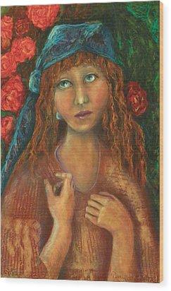Gypsy Wood Print by Terry Honstead