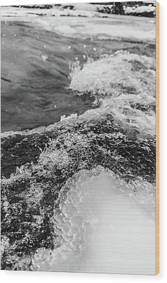 Wood Print featuring the photograph H2O by Alex Lapidus
