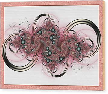 Hadron Collider Wood Print by David April
