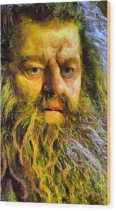 Hagrid Wood Print