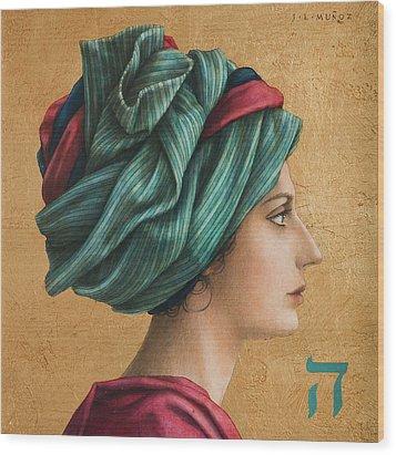 HAI Wood Print by Jose Luis Munoz Luque