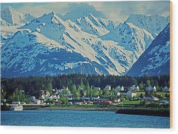 Haines - Alaska Wood Print by Juergen Weiss
