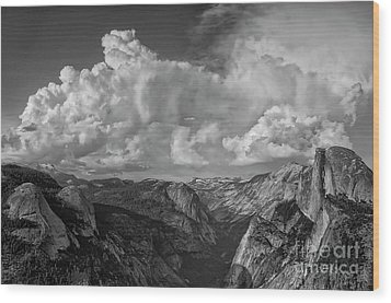 Half Dome I Visit Www.angeliniphoto.com For More Wood Print by Mary Angelini