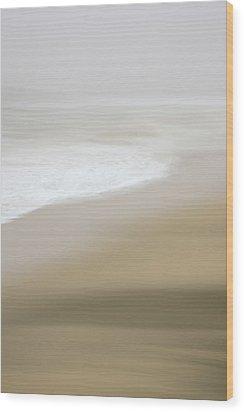 Half Moon Bay - Impressions Wood Print