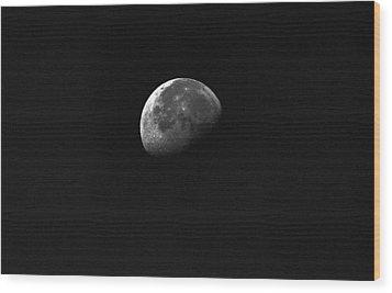 Half Moon Wood Print by Johann Todesengel
