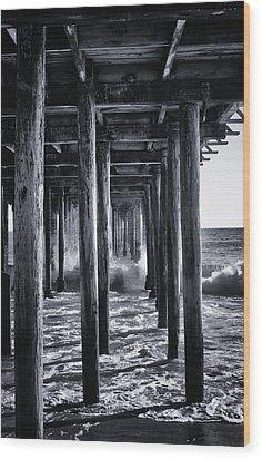 Hall Of Mirrors Wood Print by Lora Lee Chapman