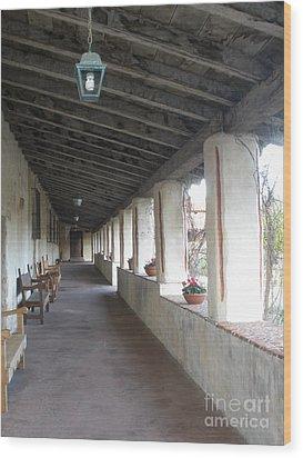 Hall Way Wood Print