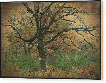 Halloween Tree 2 Wood Print