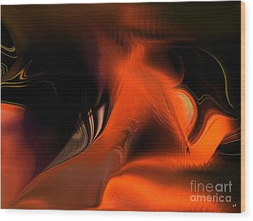 Hallucinogenic Element Wood Print