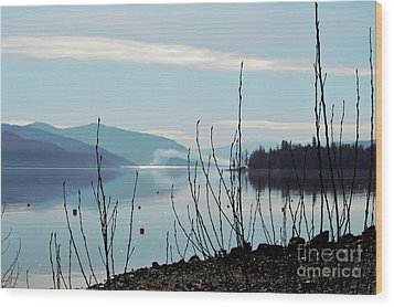 Wood Print featuring the photograph Halo On Copper Island by Victor K