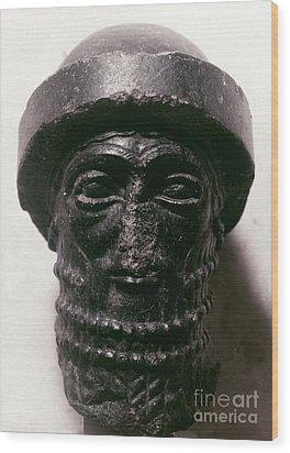 Hammurabi (d. 1750 B.c.) Wood Print by Granger