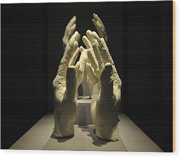 Hands Of Apollo Wood Print by David Lee Thompson