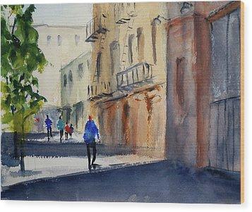 Hang Ah Alley Wood Print