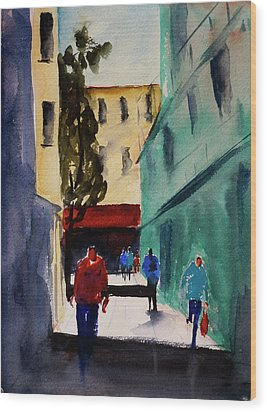 Hang Ah Alley1 Wood Print