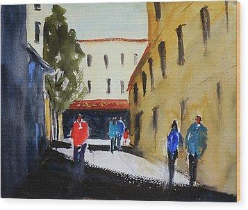 Hang Ah Alley2 Wood Print