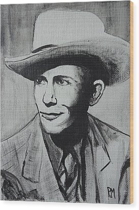 Hank Wood Print by Pete Maier