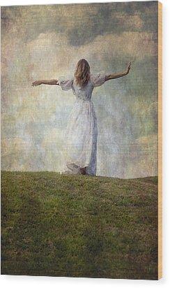 Happiness Wood Print by Joana Kruse