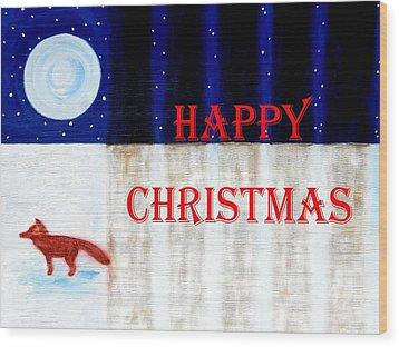 Happy Christmas 28 Wood Print by Patrick J Murphy