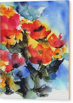 Happy Day Wood Print by Anne Duke