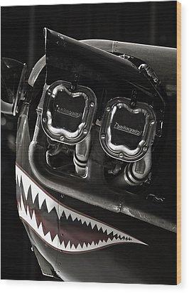 Happy Flying Wood Print by Joan Carroll
