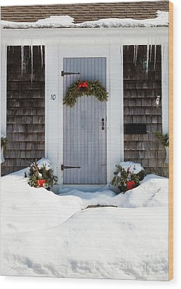 Wood Print featuring the photograph Happy Holidays by Michelle Wiarda