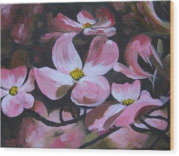 Harbinger Of Spring Wood Print