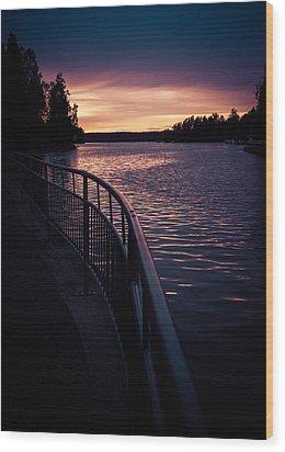Harmonia Wood Print by Matti Ollikainen
