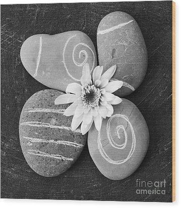 Harmony And Peace Wood Print by Linda Woods