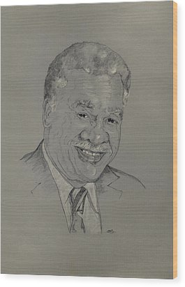 Harold Washington  Wood Print