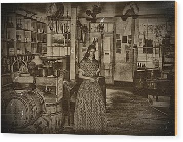 Harpers Ferry General Store Wood Print by Bill Cannon