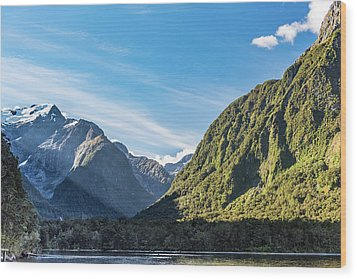Wood Print featuring the photograph Harrison Cove Sunlight by Gary Eason