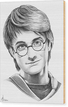 Harry Potter Wood Print by Murphy Elliott