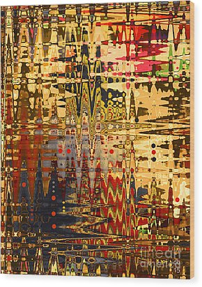 Wood Print featuring the photograph Harvest Dawn by Diane E Berry