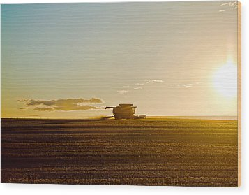 Harvest Wood Print by Gary Smith