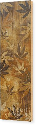 Harvest Gold Wood Print by Gayle Utter
