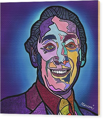 Harvey Milk I Recruit You Wood Print