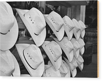 Hat And Boot Store Nashville Tn Wood Print by Joseph Mari