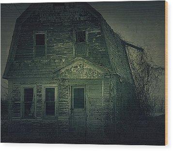Haunting Wood Print by Scott Hovind