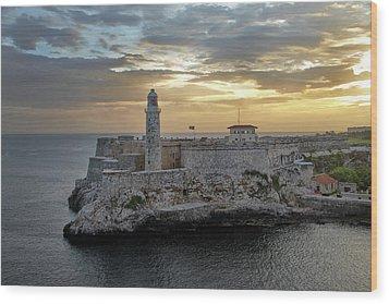 Havana Castillo 2 Wood Print