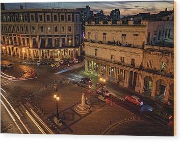 Wood Print featuring the photograph Havana Nights by Joan Carroll